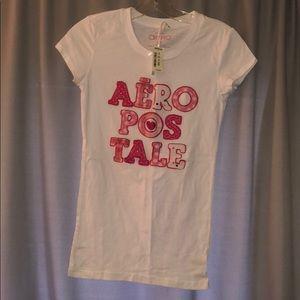 Aeropostale cute heart shirt